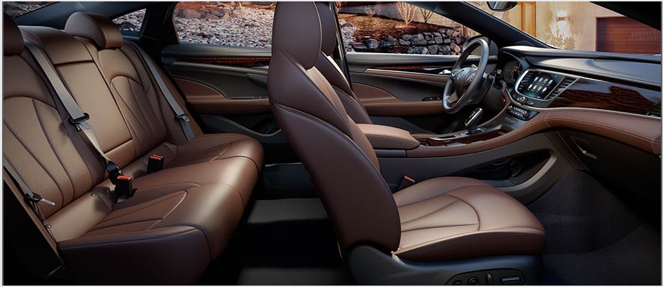 2017 Buick LaCrosse Interior Seating