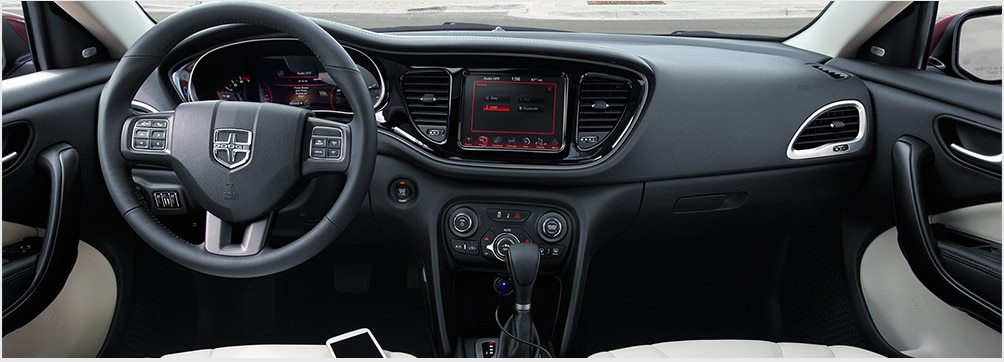 2016 Dodge Dart Interior Features