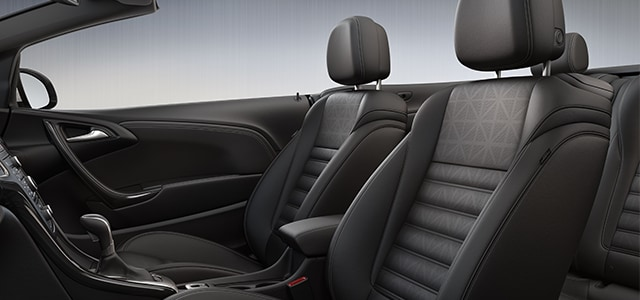 2016 Buick Cascada Inteior Leather Seating