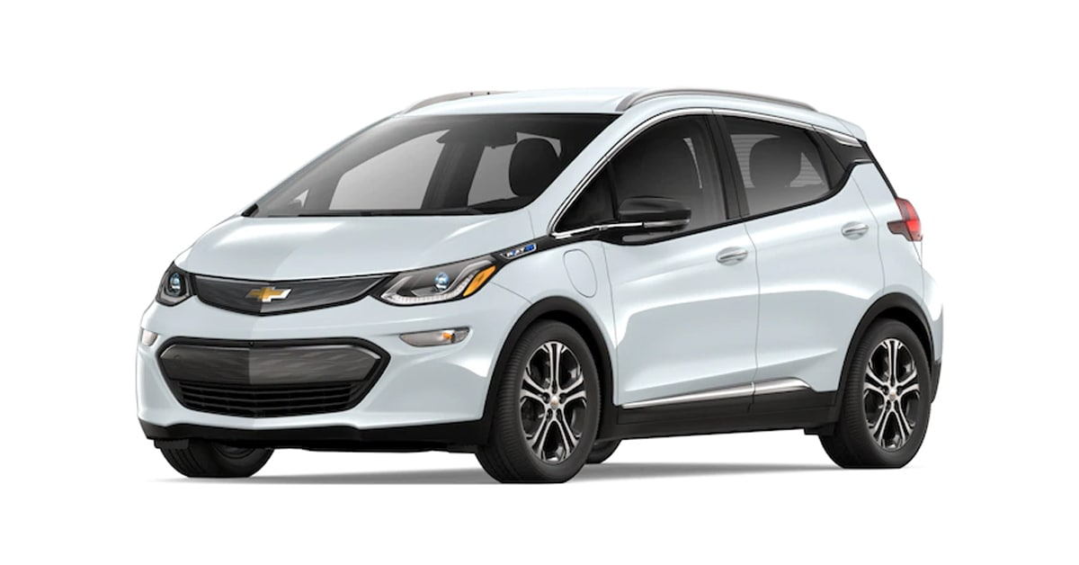 2019 Chevy Bolt Summit White