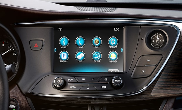 Buick Envision IntelliLink Touchscreen