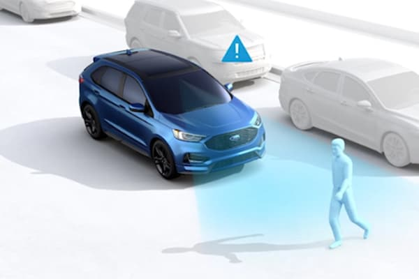 Ford's Co-Pilot360 front collision prevention system