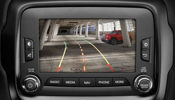 Jeep Renegade UConnect Touchscreen