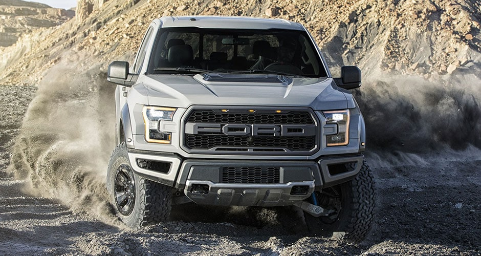 2018 Ford Raptor in the Desert