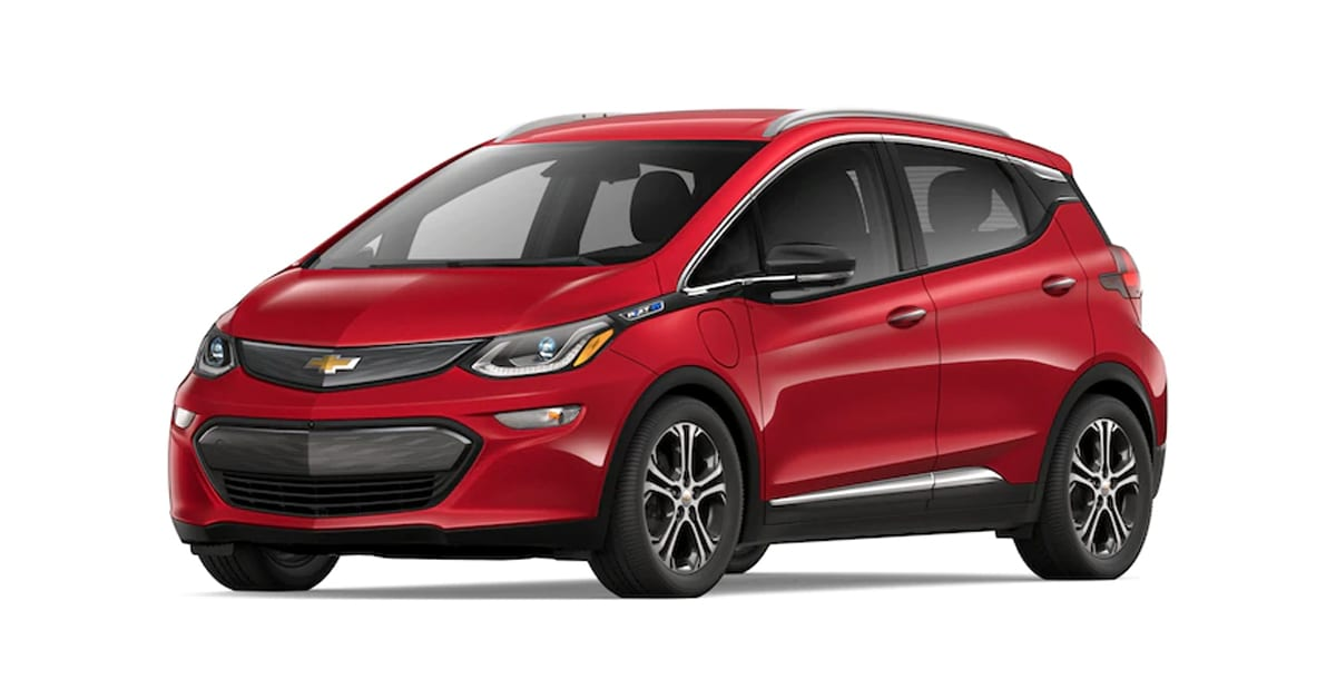 2019 Chevy Bolt Cajun Red