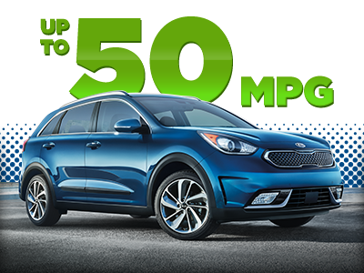 2017 Kia Niro with up to 50 MPG