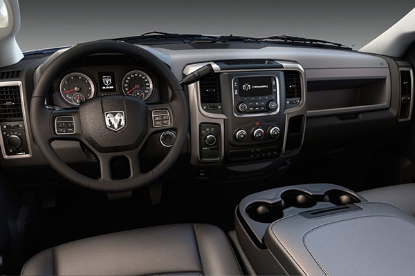 Ram 5500 HD Chassis Interior Features