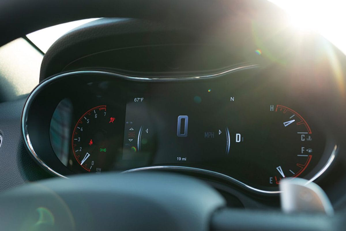 Dodge Durango digital cluster display