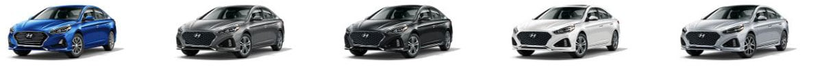 2019 Hyundai Sonata Trim Level Lineup