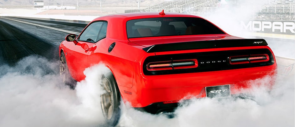 2016 Dodge Challenger on a race track