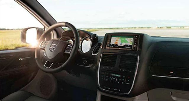Inside of 2016 Dodge Grand Caravan