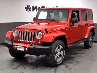 Jeep Wrangler Offer