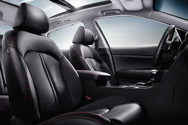 Kia Optima Interior Seating