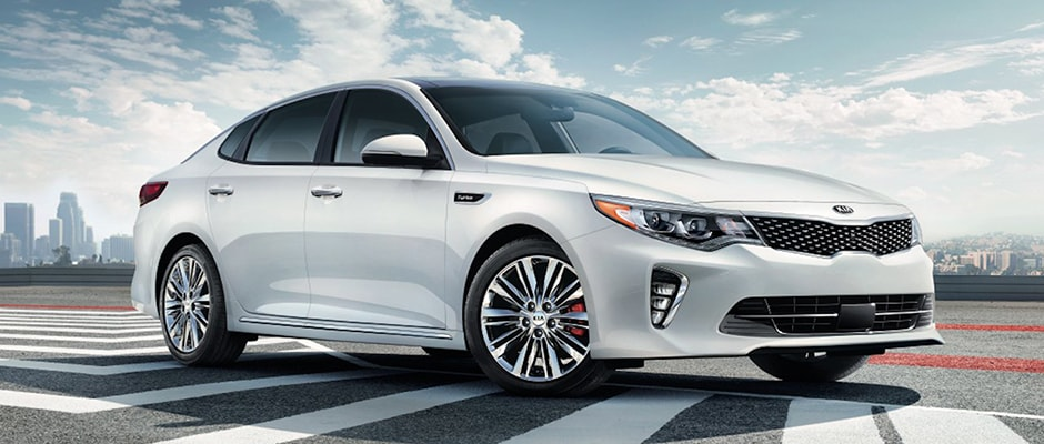 White 2018 Kia Optima