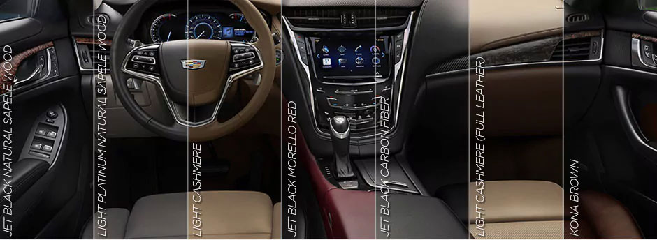 Cadillac CTS interior color options