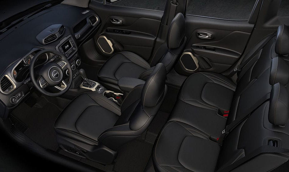 Jeep Renegade Leather Interior