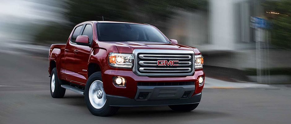 Red Used GMC Canyon