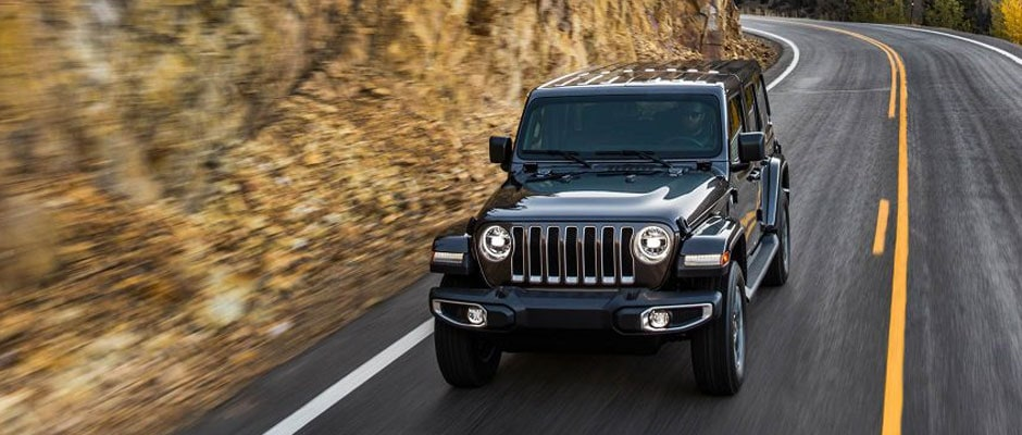 Black 2019 Jeep Wrangler