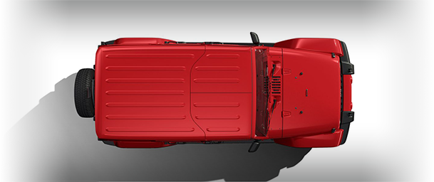 2017 Jeep Wrangler Unlimited Body-Color Hardtop