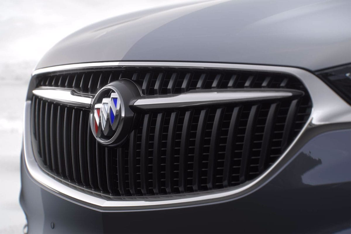 Buick Enclave grille redesign