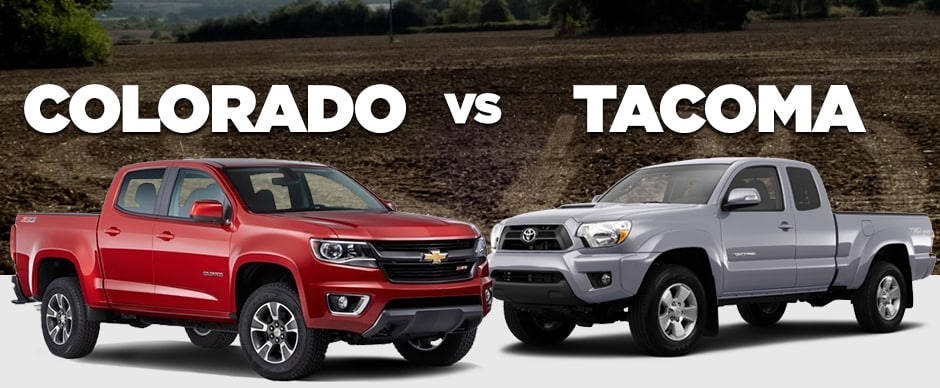 Chevrolet Colorado Vs The Toyota Tacoma Pat Mcgrath Chevyland