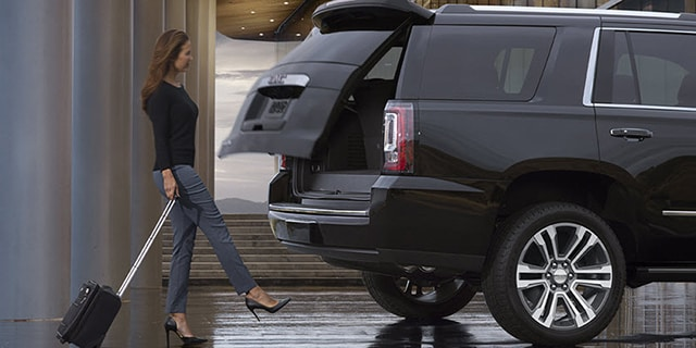 Black Yukon XL Liftgate