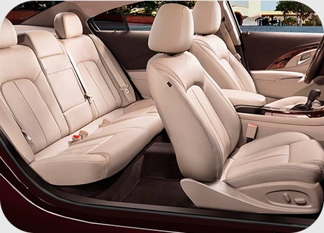 Buick LaCrosse Interior Seating
