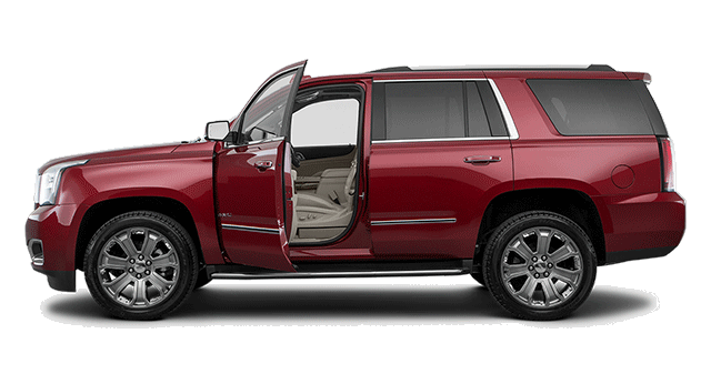 Red Yukon XL Side Angle