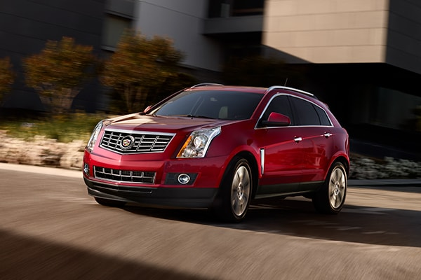 Cadillac SRX Safety Features