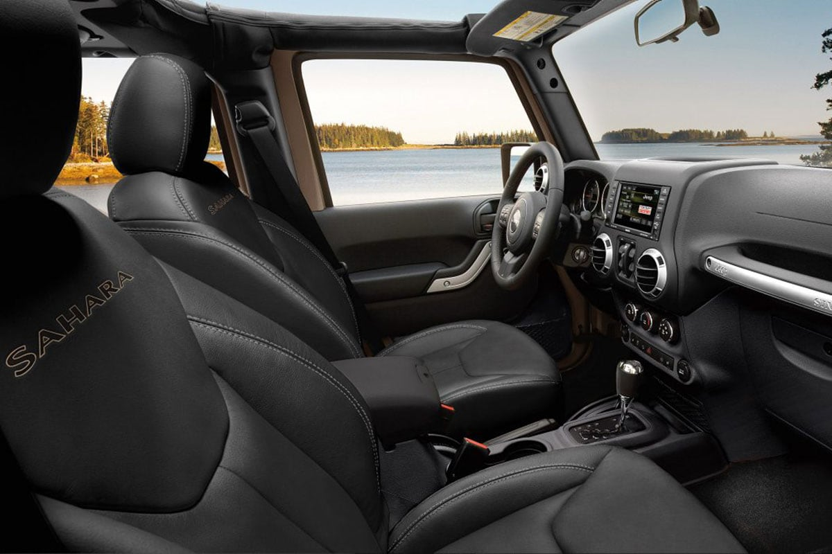 Jeep Wrangler Unlimited Interior Seating