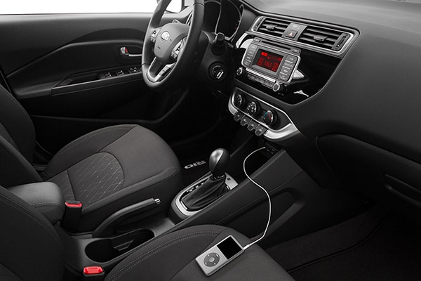 Kia Rio Interior Seating