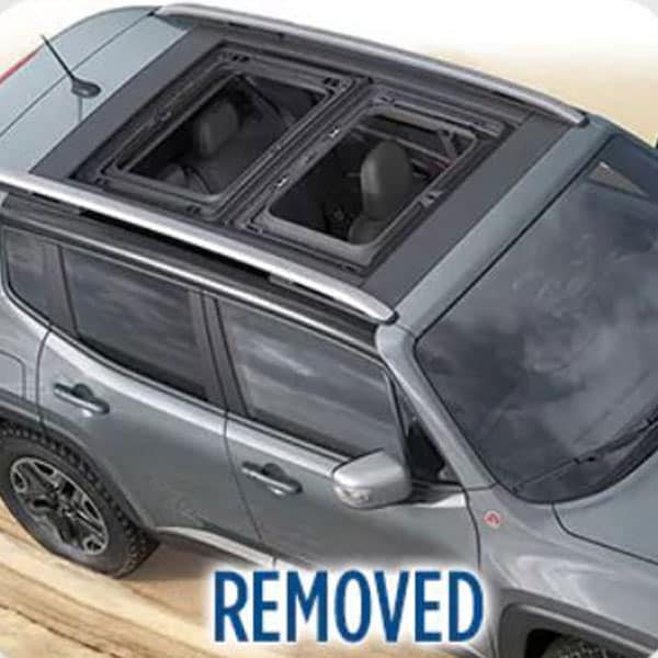 Jeep Renegade Removed Roof