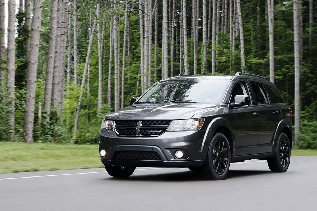 Dodge Journey Safety features