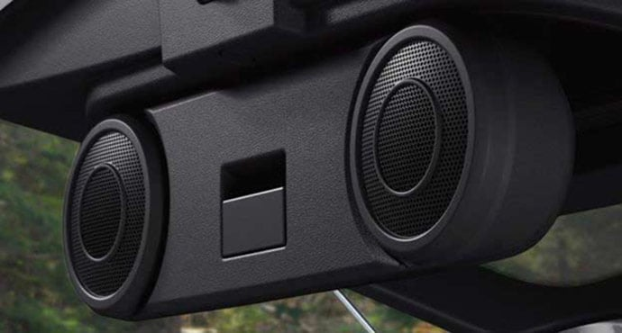 Jeep Compass Boston Acoustic Speakers