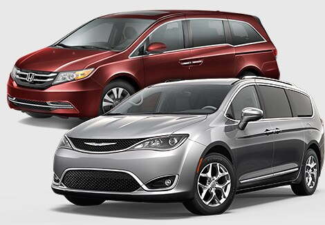 Honda Odyssey Chrysler Pacifica Comparison
