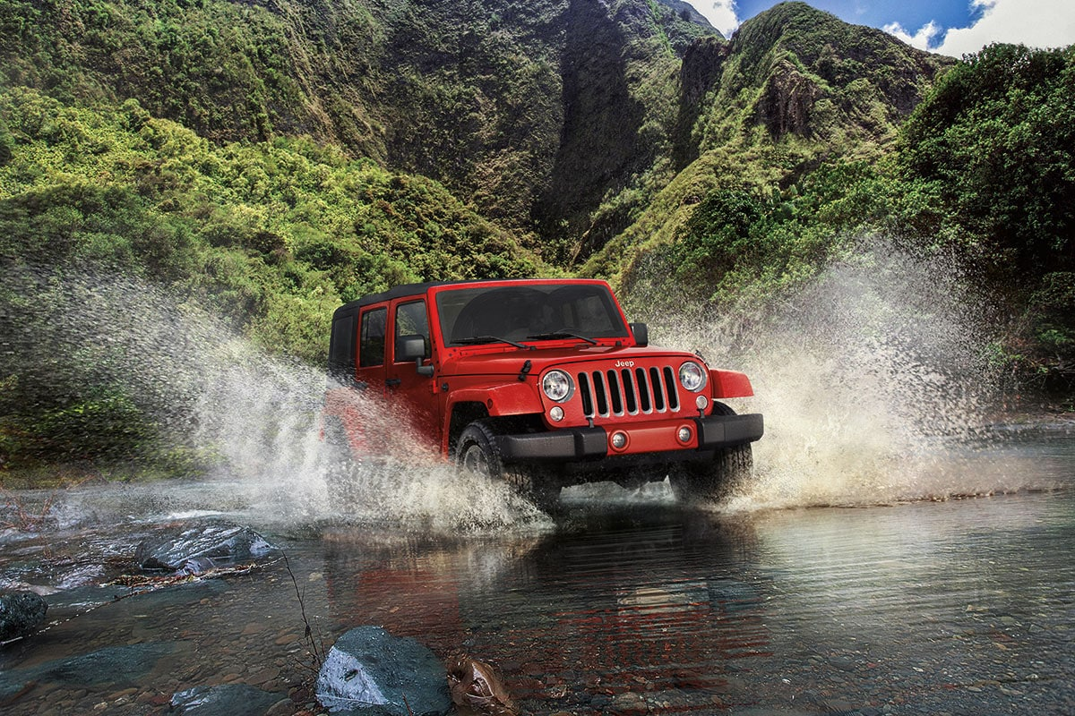 Jeep Wrangler off-road capability