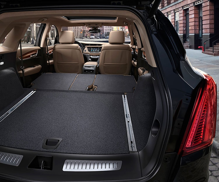Cadillac SRX Storage Space