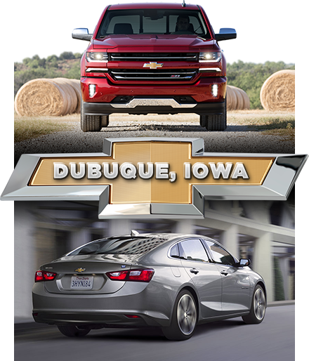 Shop Chevy in Dubuque, Iowa with McGrath!