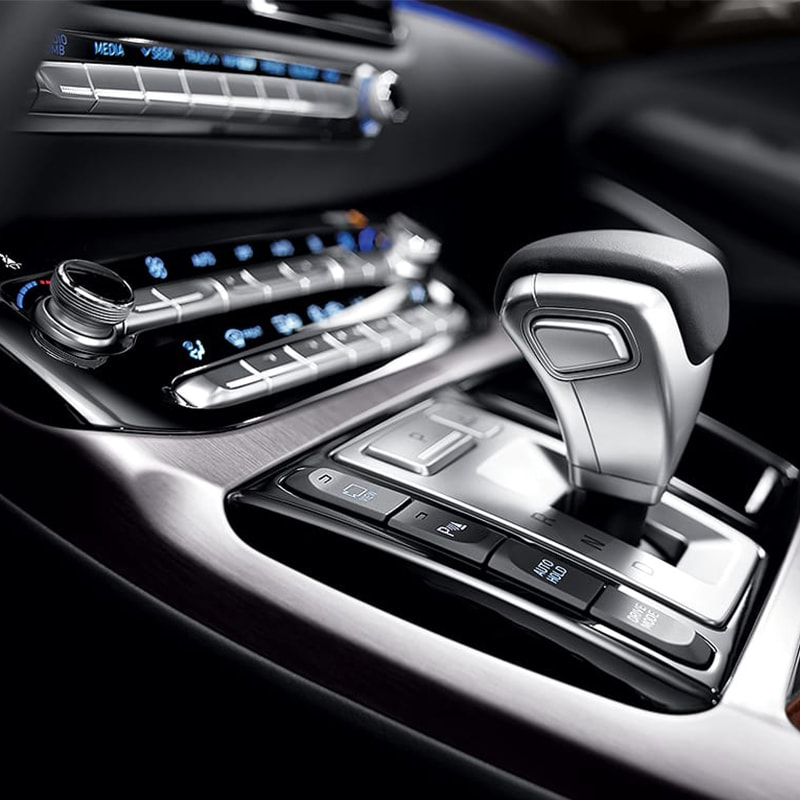 2019 Genesis G90 shifting controls