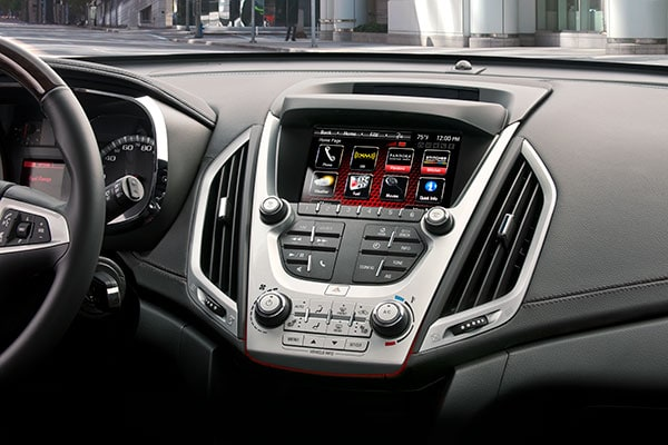 GMC Terrain technology features