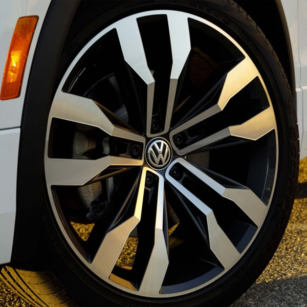 2019 Tiguan 18-inch alloy wheels