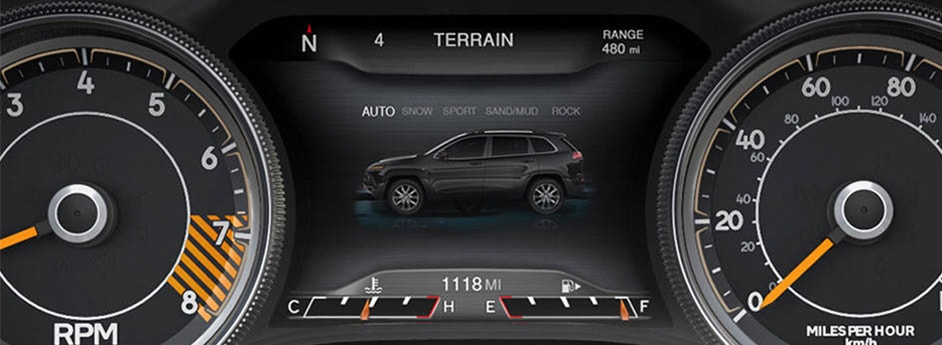 Jeep Cherokee Select Traction Control