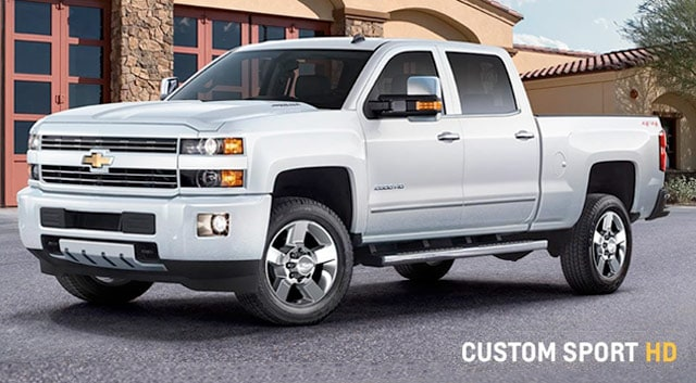 Used Chevy Silverado Custom Sport HD
