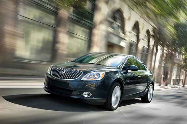 Buick Verano Safety features