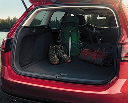 Volkswagen Golf Alltrack rear hatch