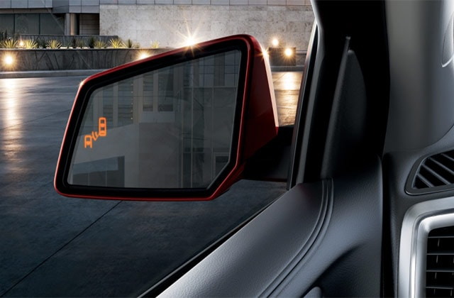 2016 Red GMC Acadia Side Mirror