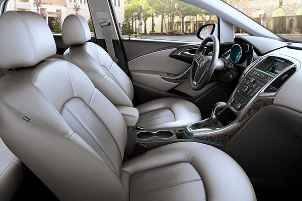 Buick Verano Interior seating