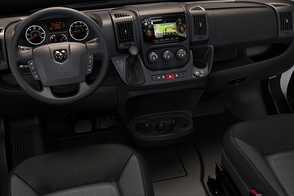 Ram Promaster 1500 Uconnect Infotainment System