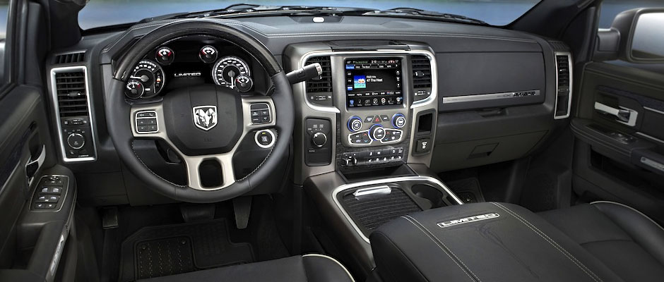 inside the 2016 Ram 2500