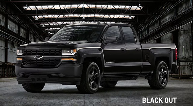 Used Chevy Silverado Black Out Edition
